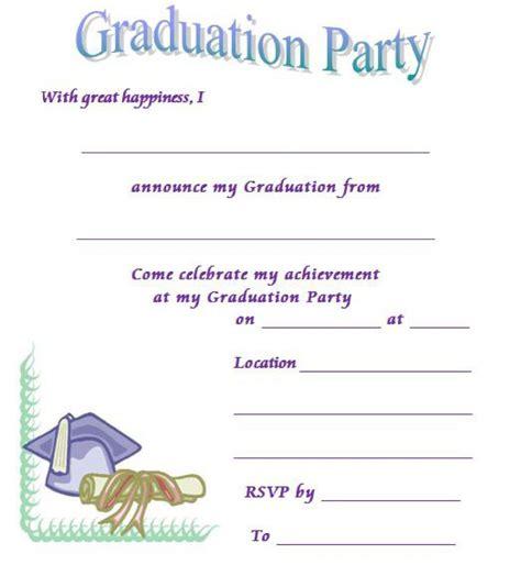 graduation announcement template printable graduation invitation