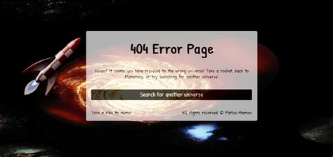 http error page templates planetary premium error page template by patisss
