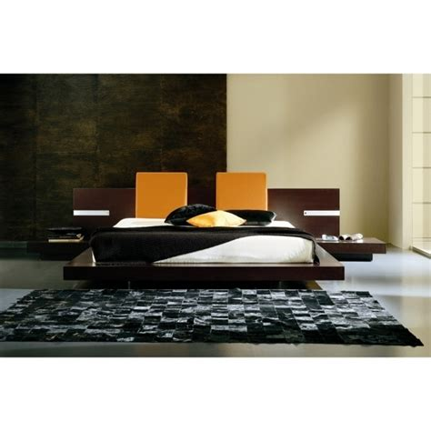 floating headboard floating platform bed frame twin modern floating