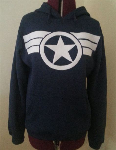 Captain America Hoodie captain america commander steve rogers secret