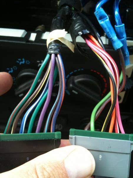 speaker wire color codes jeep cherokee forum