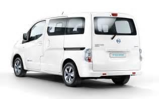 Nissan Evalia Nissan E Nv200 Evalia Electric Lease Fleetdrive