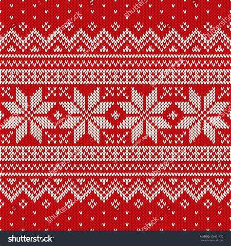 jumper pattern vector christmas sweater design seamless pattern stock vector