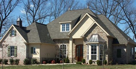 houses with stone and siding brick and stone combinations double hung and specialty