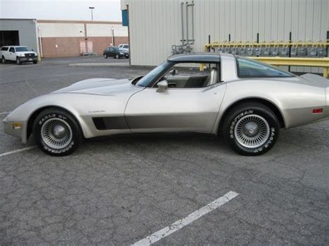 30th anniversary corvette purchase used 1982 corvette 30th anniversary collector s