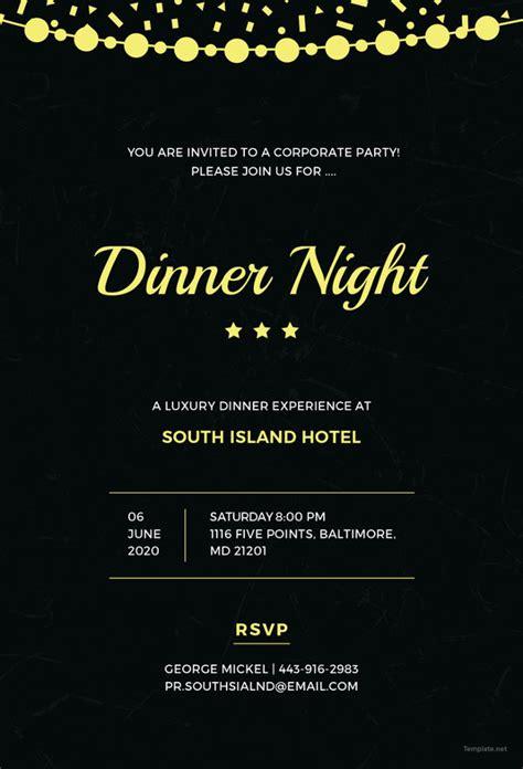 corporate invitation cards psd ai vector eps