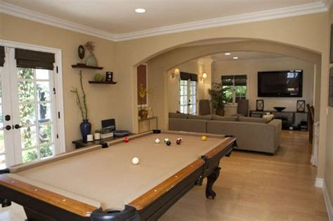 pool table in living room pool table in formal living room living room