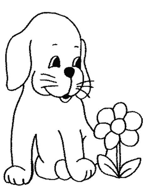 dibujos de perros cachorros para colorear colorear im 225 genes dibujo para pintar perro imagui