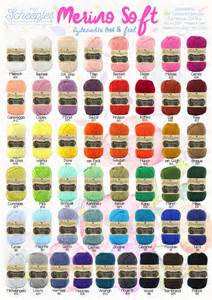 i this yarn color chart felted button colorful crochet patterns chromatic