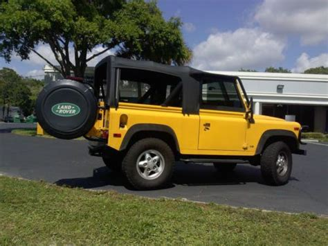manual cars for sale 1995 land rover defender parental controls sell used amazing 1995 land rover defender 90 manual transmission low mileage 53 000 in ta