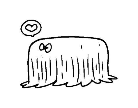 dibujos de perros para colorear dibujosnet dibujo de perro komondor para colorear dibujos net