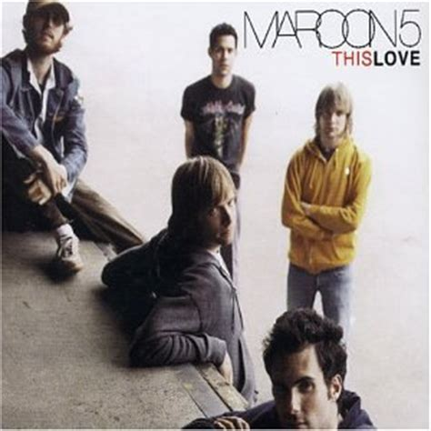 Cd Maroon 5 Songs About Import maroon 5 this