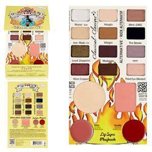 Thebalm Jovi Palette thebalm cosmetics balm jovi rockstar palette reviews