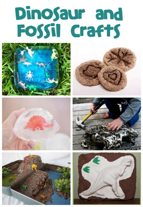 fossil crafts for dinosaur and fossil crafts and activities family crafts