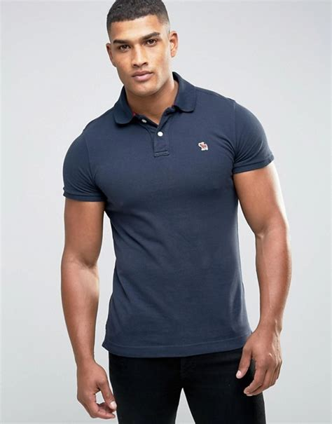 Abercrombie Fit by Abercrombie Fitch Abercrombie Fitch Slim Fit Polo In