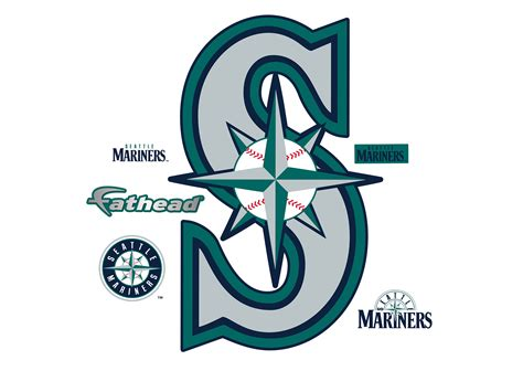 Seattle Mariners Gift Card - seattle mariners alternate logo wall decal shop fathead 174 for seattle mariners decor