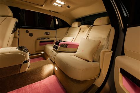 rolls royce ghost rear interior 2013 rolls royce ghost fab1 for breast cancer care