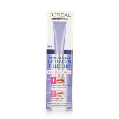 Collagen Loreal l oreal wrinkle de crease collagen filler lip east end cosmetics