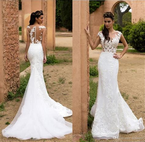 Mermaid Lace Wedding Gown 2018 lace mermaid wedding dresses fashion dresses