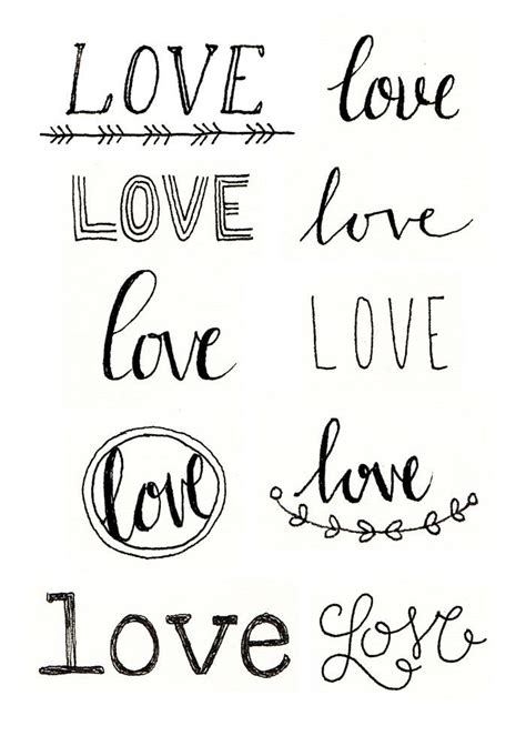 doodle font signs painted backdrop i quot quot this inspiration