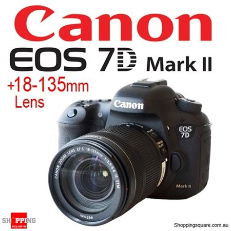 Canon Eos 7d Lensa Kit 18 135mm 18 Mp canon eos 7d ii with ef s 18 135mm f 3 5 5 6 is stm kit set shopping shopping