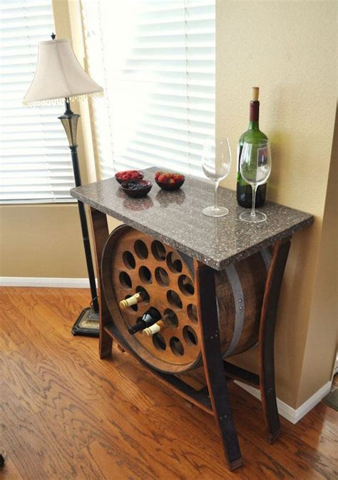 Ikea Kitchen Island Stools 8 stunning uses for old wine barrels