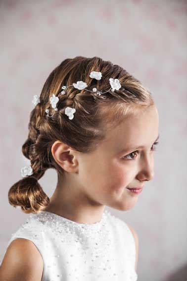 Holy Communion Hairstyles by Communion Hair Vine Floral And Beaded Hair Wire For