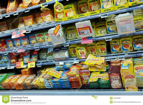 Cheese Hypermart Cheese Aisle Editorial Image Image 47043305