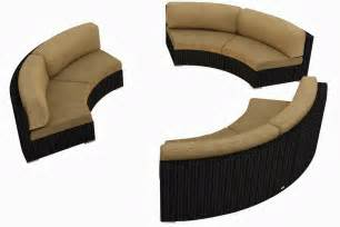 curved outdoor sofa buy curved sofa september 2013
