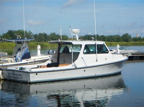robbins boats for sale 1982 robins 29 chesapeake 29 995 diesel power the hull