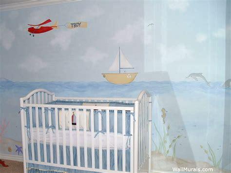 Baby Wall Mural ocean themed wall murals surf themed murals beach