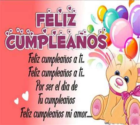 imagenes y mensajes de cumpleaños para mi amor mensajes y postales felicitacion cumplea 241 os para mi amor