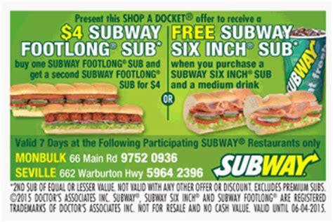 subway coupons printable canada 2016 subway eat fresh coupons subway coupons
