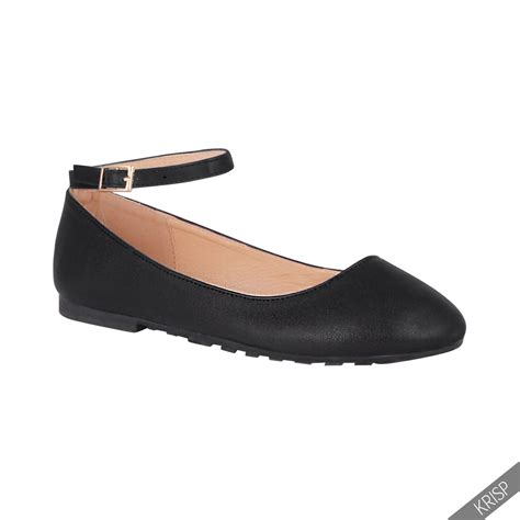 Flat Shoes Casual Aa ankle fashion ballerina flats pumps school ballet casual shoes