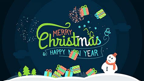 funny wishes merry christmas  happy  year  justfancy videohive