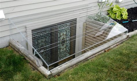 new design of basement window well covers