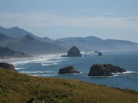 panoramio photo of haystack rock cannon beach from