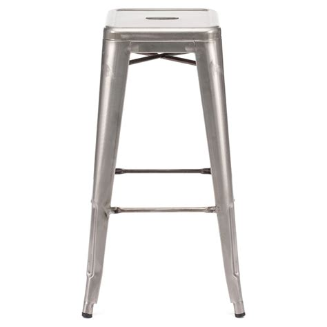 rent bar stools gunmetal backless bar stool for rent in nyc partyrentals us