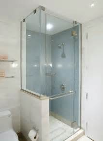 Shower Stall Ideas For A Small Bathroom by Shower Stall Example Small Bath Ideas Pinterest