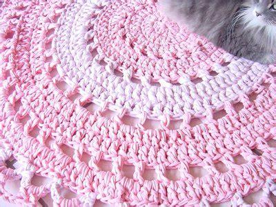 tappeti rosa tappeto fettuccia uncinetto rosa per la casa e per te