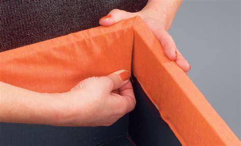 schublade mit stoff beziehen hocker aufpolstern einrichten mobiliar selbst de