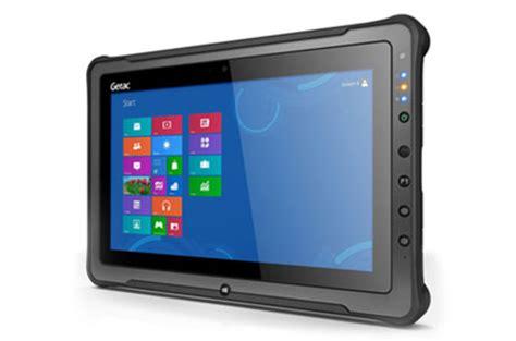 rugged tablets grade bruiser getac f110 rugged tablet is no the register