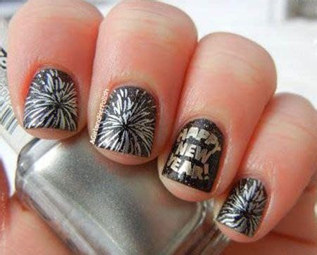 new year simple nail happy new year nail on happy new year new