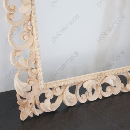 cornice grezza cornice barocca grezza legno massello
