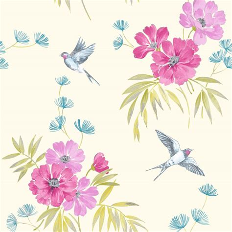 shabby chic floral wallpaper shabby chic floral wallpaper in various designs wall decor new