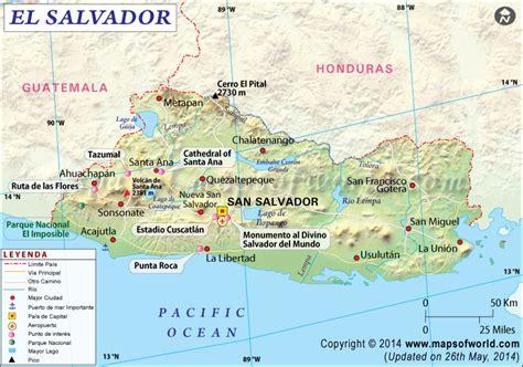 el salvador en el mapa mundi mapa de el salvador mapa el salvador