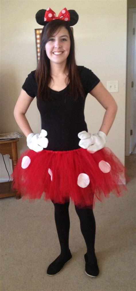 Handmade Minnie Mouse Costume - minnie mouse costume ideas for mickey s