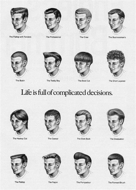 Male Hairstyles And Their Names | 1000 ideas about men haircut names on pinterest