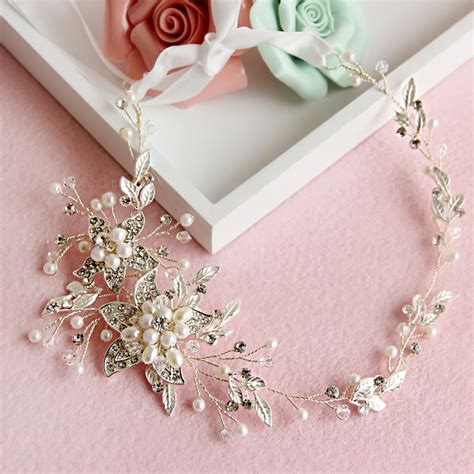 Handmade Bridal Accessories - buy 2016 new flora handmade bridal hair accessories