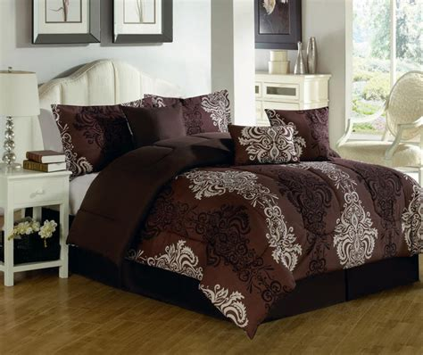 tan and white comforter set white bedding set with classic curving gray pattern